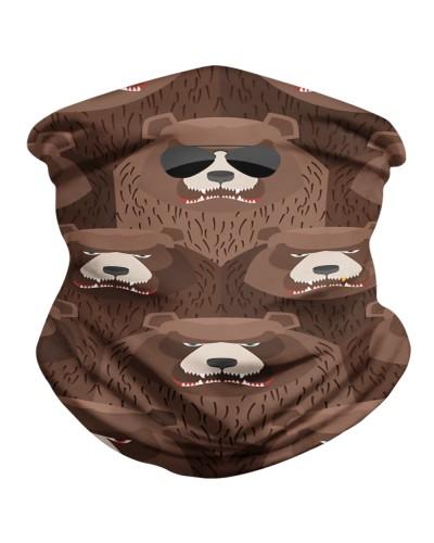Brown Angry Bear