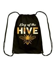 King of the Hive Drawstring Bag thumbnail