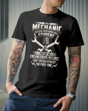 I'm A Mechanic Because Classic T-Shirt lifestyle-mens-crewneck-front-6