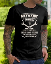 I'm A Mechanic Because Classic T-Shirt lifestyle-mens-crewneck-front-7