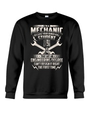 I'm A Mechanic Because Crewneck Sweatshirt thumbnail