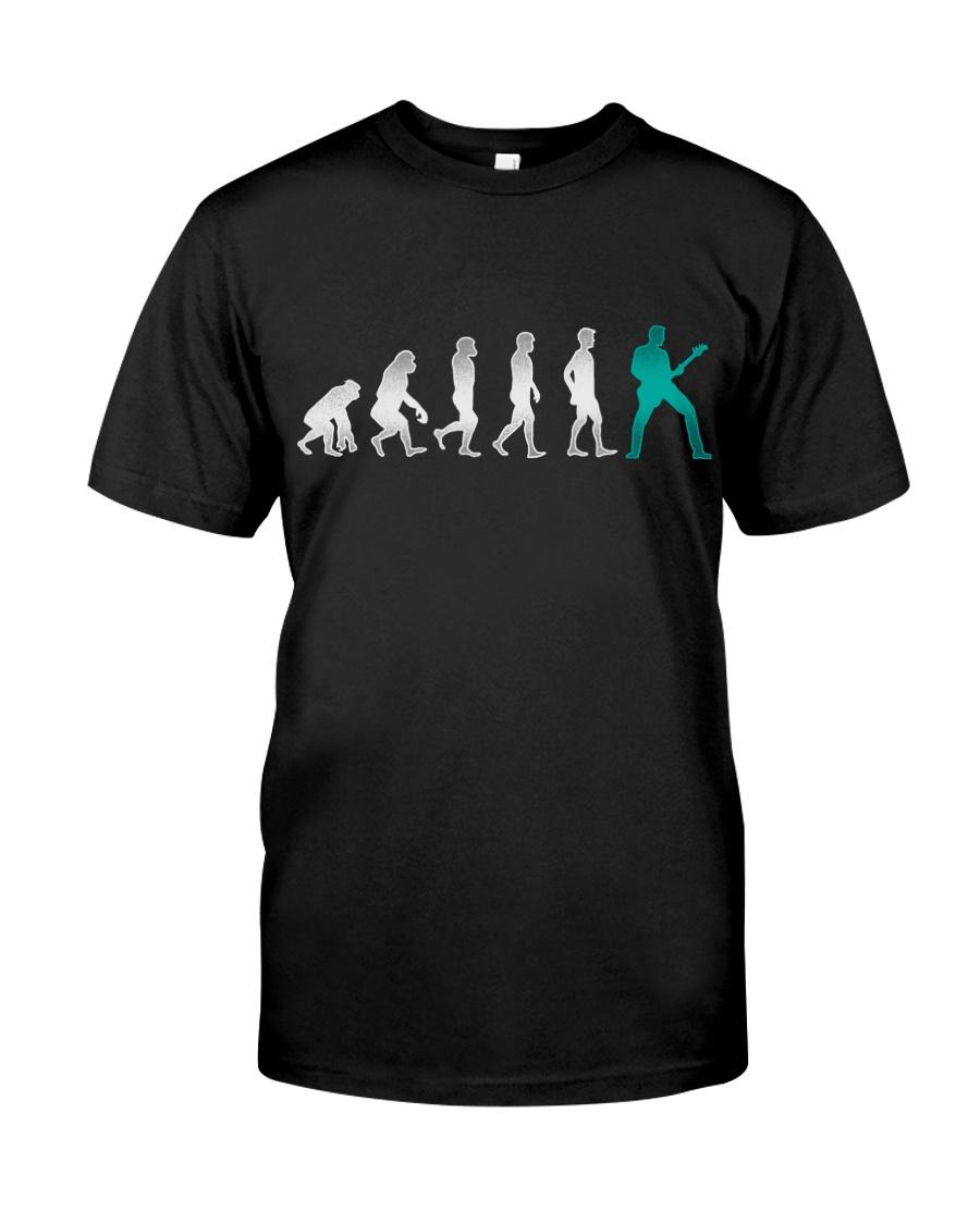 Guitar Player Evolution Classic T-Shirt