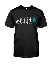 Guitar Player Evolution Classic T-Shirt front