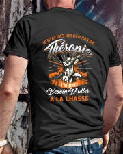 LA CHASSE Classic T-Shirt lifestyle-mens-crewneck-back-2