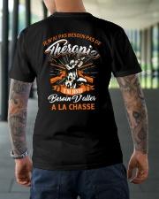 LA CHASSE Classic T-Shirt lifestyle-mens-crewneck-back-3