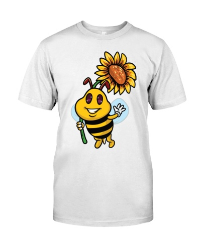 Bee Sunflower