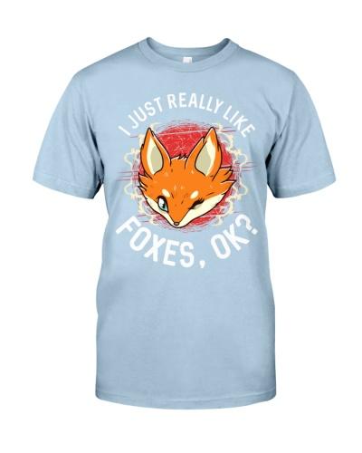 I REALLY LIKE FOXES
