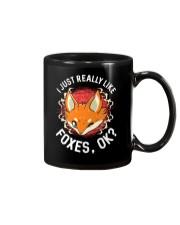 I REALLY LIKE FOXES Mug thumbnail