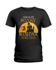 My Scary Beekeeper Costume Ladies T-Shirt thumbnail