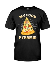 PIZZA PYRAMID Classic T-Shirt front