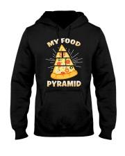 PIZZA PYRAMID Hooded Sweatshirt thumbnail