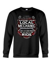 Support Your Local Mechanic Crewneck Sweatshirt thumbnail