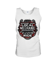Support Your Local Mechanic Unisex Tank thumbnail
