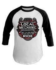 Support Your Local Mechanic Baseball Tee thumbnail