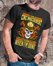 CNC MECHANIST Classic T-Shirt lifestyle-mens-crewneck-front-4