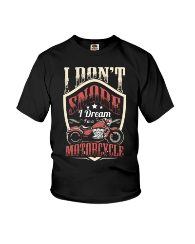 Motorcycle I don't snore