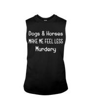 DOGS AND HORSES Sleeveless Tee thumbnail