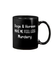 DOGS AND HORSES Mug thumbnail