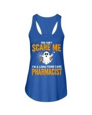 Long-Term Care pharmacist Halloween  Ladies Flowy Tank thumbnail