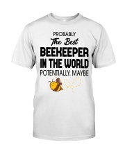 Probably The Best Beekeeper Premium Fit Mens Tee thumbnail