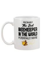 Probably The Best Beekeeper Mug back