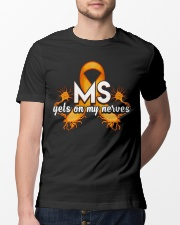 MS Gets on my nerves Classic T-Shirt lifestyle-mens-crewneck-front-13