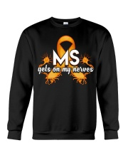 MS Gets on my nerves Crewneck Sweatshirt thumbnail