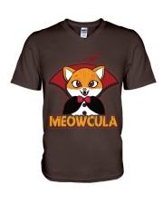 Meowcula  V-Neck T-Shirt thumbnail