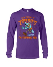 Zombies chase us  Long Sleeve Tee thumbnail