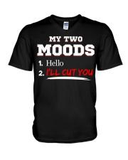 My Two Moods V-Neck T-Shirt thumbnail