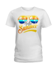 Hello Summer Ladies T-Shirt thumbnail
