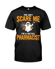 Retail Pharmacist Halloween  Classic T-Shirt front