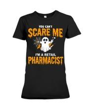 Retail Pharmacist Halloween  Premium Fit Ladies Tee thumbnail
