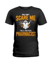 Retail Pharmacist Halloween  Ladies T-Shirt thumbnail