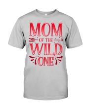 Mom of the Wild One Shirt Plaid Lumberjack  Classic T-Shirt thumbnail