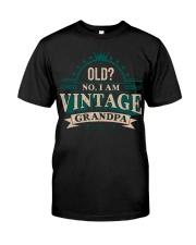 VINTAGE GRANDPA Classic T-Shirt front