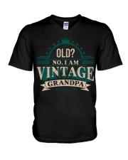 VINTAGE GRANDPA V-Neck T-Shirt thumbnail