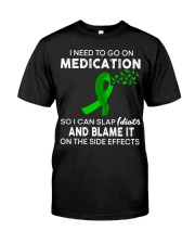 Brain Injury Awareness Funny Classic T-Shirt front