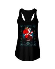 Santa Ugly Christmas Ladies Flowy Tank thumbnail