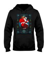 Santa Ugly Christmas Hooded Sweatshirt thumbnail