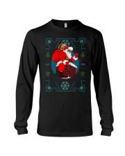 Santa Ugly Christmas Long Sleeve Tee thumbnail