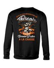 J'ai Besoin D'aller A La Chasse Crewneck Sweatshirt thumbnail