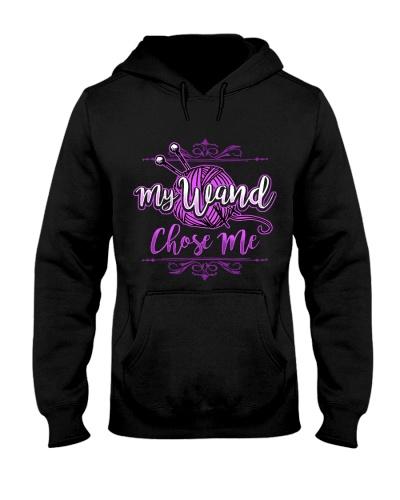 KNITTING-My wand chose me