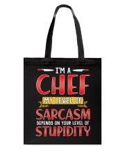 I'M A CHEF Tote Bag thumbnail