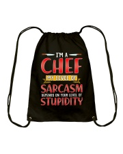 I'M A CHEF Drawstring Bag tile