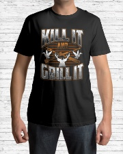 Hunting -Grill it Classic T-Shirt lifestyle-mens-crewneck-front-1