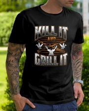 Hunting -Grill it Classic T-Shirt lifestyle-mens-crewneck-front-7