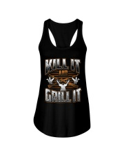 Hunting -Grill it Ladies Flowy Tank thumbnail