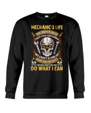 Mechanic's Life  Crewneck Sweatshirt thumbnail