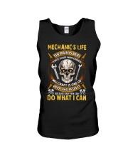 Mechanic's Life  Unisex Tank thumbnail